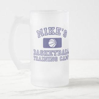 Mike's Basketball Training Camp Beer Mug