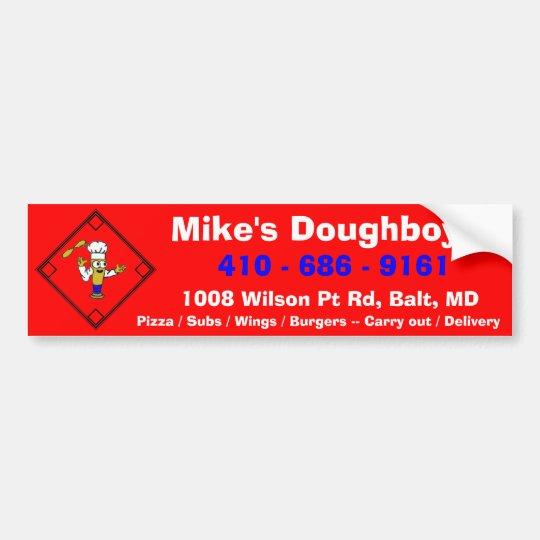 Mike's Doughboys Bumper Sticker