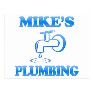 Mike's Plumbing Postcard