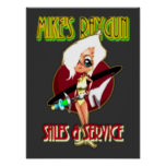 Mikes Raygun Sales & Service Poster