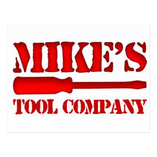 Mike's Tool Company Postcard