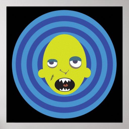 Mikey el monstruo póster