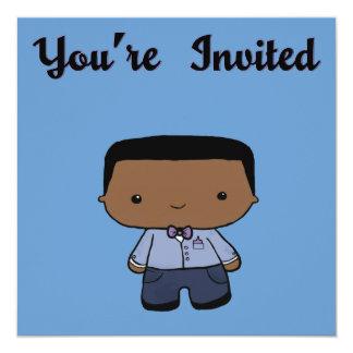 Mikey Invitation