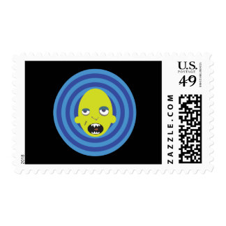 Mikey The Monster Stamp