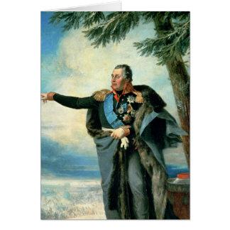 Mikhael Ilarionovich Golenichtchev Kutuzov Card