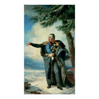 Mikhael Ilarionovich Golenichtchev Kutuzov Poster