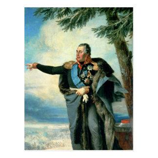 Mikhael Ilarionovich Golenichtchev Kutuzov Postcard