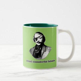 Mikhail Alexandrovich Bakunin T shirts Two-Tone Coffee Mug
