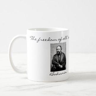 Mikhail Bakunin Anarchist Quotes Mug