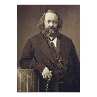Mikhail Bakunin Russian Anarchist by Nadar Card