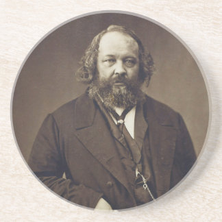 Mikhail Bakunin Russian Anarchist by Nadar Drink Coaster