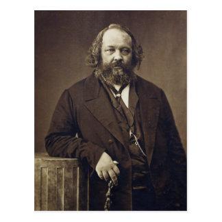 Mikhail Bakunin Russian Anarchist by Nadar Postcard