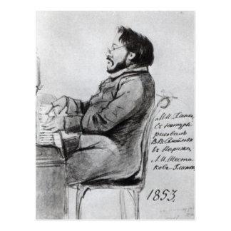 Mikhail Glinka, 1853 Tarjeta Postal