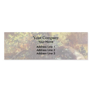 Mikhail Lebedev- At the Forrest Edge Business Card