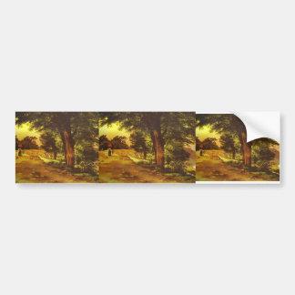 Mikhail Lebedev- In Giji Park Bumper Stickers