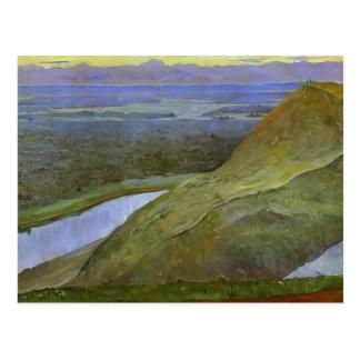 Mikhail Nesterov- Homeland of Aksakov (Urals) Post Cards