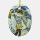 Mikhail Nesterov- San Jorge y dragón Ornamentos Para Reyes Magos
