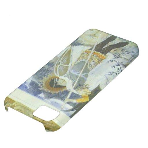 Mikhail Nesterov- San Jorge y dragón Funda Para iPhone 5C