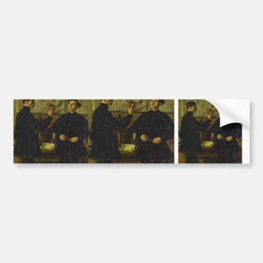Mikhail Nesterov- The Korin Brothers Car Bumper Sticker