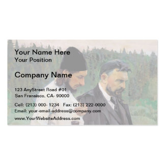 Mikhail Nesterov- The Philosophers Business Card