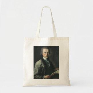 Mikhail Shibanov- Portrait of A. G. Spiridov Canvas Bags