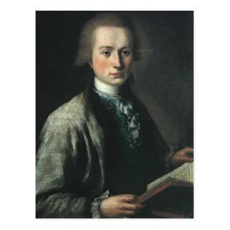 Mikhail Shibanov- Portrait of A. G. Spiridov Postcard