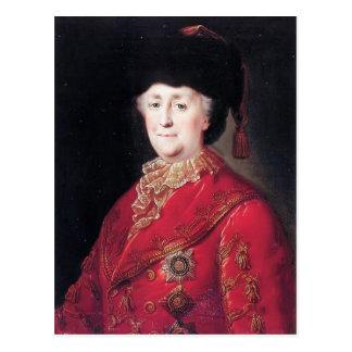 Mikhail Shibanov- Portrait of Empress Catherine Post Cards