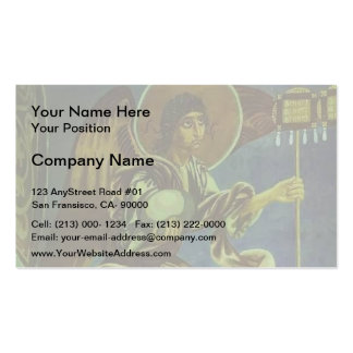 Mikhail Vrubel- Angel with Labara Double-Sided Standard Business Cards (Pack Of 100)