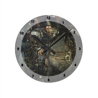 Mikhail Vrubel- Bogatyr Clocks