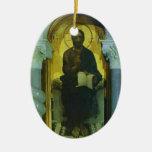 Mikhail Vrubel- Christ Christmas Ornament