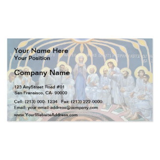 Mikhail Vrubel- Descent of Holy Spirit on Apostles Double-Sided Standard Business Cards (Pack Of 100)