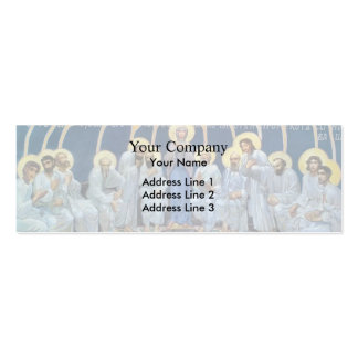 Mikhail Vrubel- Descent of Holy Spirit on Apostles Double-Sided Mini Business Cards (Pack Of 20)