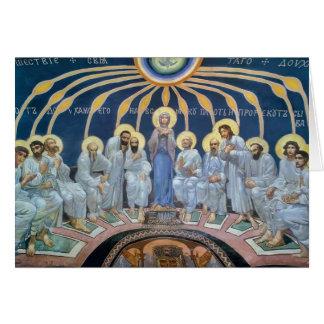 Mikhail Vrubel- Descent of Holy Spirit on Apostles Greeting Card