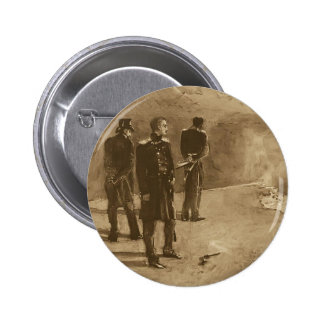 Mikhail Vrubel- Duel of Pechorin and Grushnitsky 2 Inch Round Button