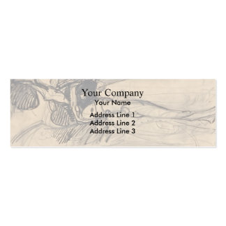 Mikhail Vrubel- Fallen Demon Double-Sided Mini Business Cards (Pack Of 20)