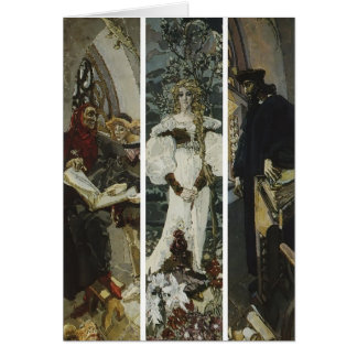 Mikhail Vrubel- Faust Greeting Card
