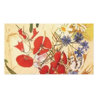 Mikhail Vrubel- Field flowers Double-Sided Standard Business Cards (Pack Of 100)