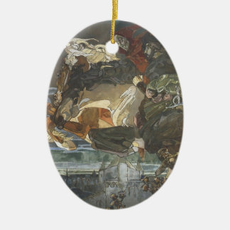 Mikhail Vrubel- Flight of Faust and Mephisto Ornaments