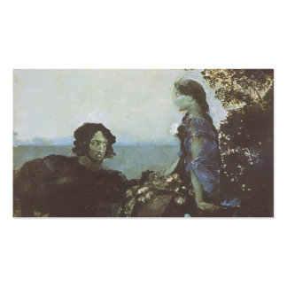 Mikhail Vrubel- Hamlet and Ophelia Double-Sided Standard Business Cards (Pack Of 100)