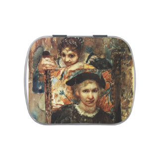 Mikhail Vrubel- Hamlet and Ophelia Candy Tin