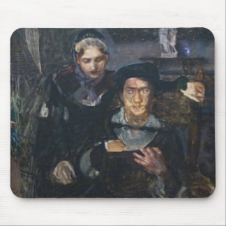Mikhail Vrubel- Hamlet and Ophelia Mouse Pad