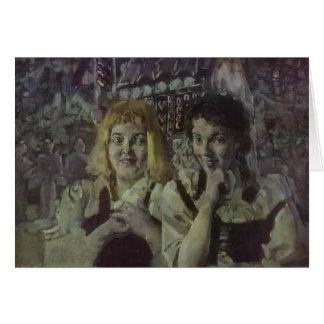 Mikhail Vrubel- Hansel and Gretel Greeting Card