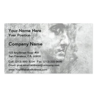 Mikhail Vrubel- Head of angel Double-Sided Standard Business Cards (Pack Of 100)