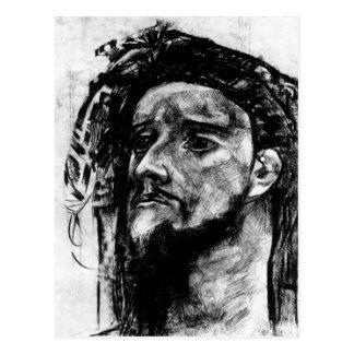 Mikhail Vrubel- Head of Prophet Postcard