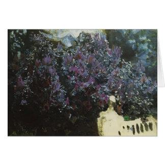 Mikhail Vrubel- Lilacs Greeting Card
