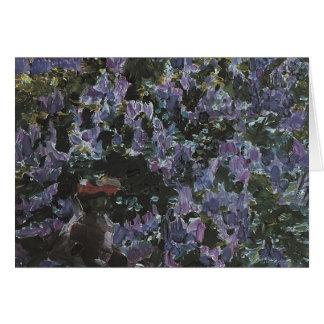 Mikhail Vrubel- Lilacs Card