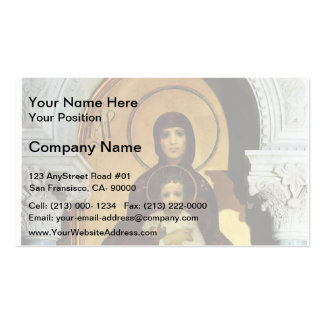Mikhail Vrubel- Madonna Double-Sided Standard Business Cards (Pack Of 100)
