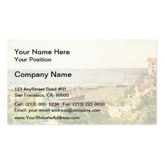 Mikhail Vrubel- Odessa harbour Double-Sided Standard Business Cards (Pack Of 100)