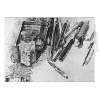 Mikhail Vrubel- Pencils Cards