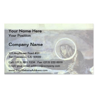 Mikhail Vrubel- Pieta Double-Sided Standard Business Cards (Pack Of 100)